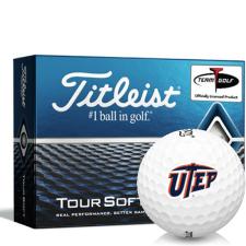 Titleist Tour Soft Texas El Paso Miners Golf Balls