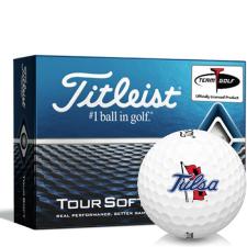 Titleist Tour Soft Tulsa Golden Hurricane Golf Balls