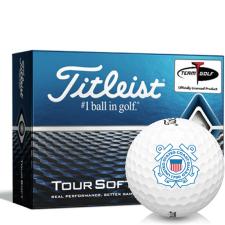Titleist Tour Soft US Coast Guard Golf Balls