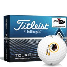 Titleist Tour Soft Washington Redskins Golf Balls