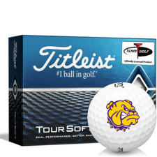 Titleist Tour Soft Western Illinois Leathernecks Golf Balls