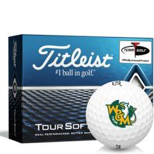 Titleist Tour Soft William & Mary Tribe Golf Balls