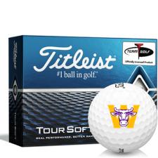 Titleist Tour Soft Williams College Ephs Golf Balls
