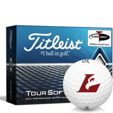 Titleist Tour Soft Wisconsin La Crosse Eagles Golf Balls