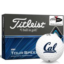 Titleist Tour Speed California Golden Bears Golf Balls