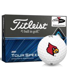 Titleist Tour Speed Louisville Cardinals Golf Balls