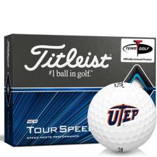 Titleist Tour Speed Texas El Paso Miners Golf Balls