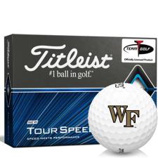 Titleist Tour Speed Wake Forest Demon Deacons Golf Balls