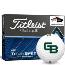 Titleist Tour Speed Wisconsin Green Bay Phoenix Golf Balls