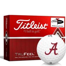 Titleist TruFeel Alabama Crimson Tide Golf Balls