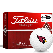 Titleist TruFeel Arizona Cardinals Golf Balls