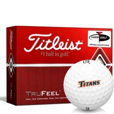 Titleist TruFeel Cal State Fullerton Titans Golf Balls