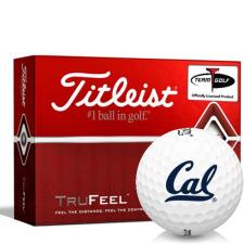 Titleist TruFeel California Golden Bears Golf Balls