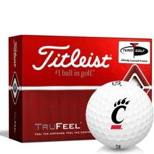 Titleist TruFeel Cincinnati Bearcats Golf Balls