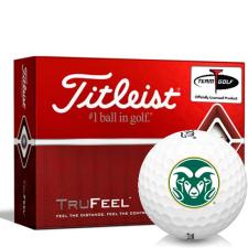 Titleist TruFeel Colorado State Rams Golf Balls