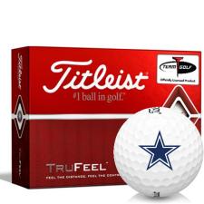 Titleist TruFeel Dallas Cowboys Golf Balls