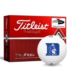 Titleist TruFeel Duke Blue Devils Golf Balls