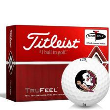 Titleist TruFeel Florida State Seminoles Golf Balls