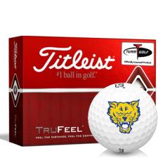 Titleist TruFeel Fort Valley State Wildcats Golf Balls
