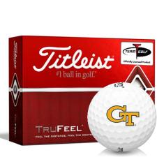 Titleist TruFeel Georgia Tech Golf Balls