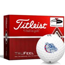 Titleist TruFeel Gonzaga Bulldogs Golf Balls