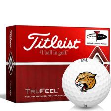 Titleist TruFeel IUPUI Jaguars Golf Balls