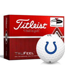 Titleist TruFeel Indianapolis Colts Golf Balls