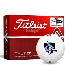 Titleist TruFeel Johns Hopkins Blue Jays Golf Balls