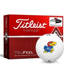 Titleist TruFeel Kansas Jayhawks Golf Balls