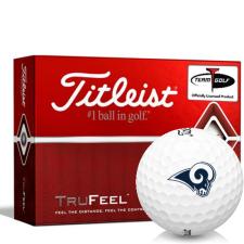 Titleist TruFeel Los Angeles Rams Golf Balls