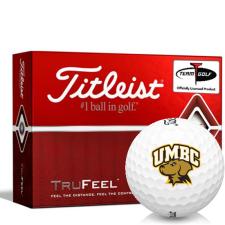 Titleist TruFeel Maryland Baltimore County Retrievers Golf Balls