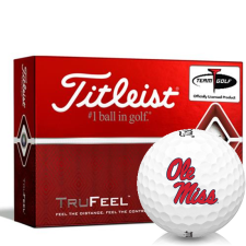 Titleist TruFeel Ole Miss Rebels Golf Balls