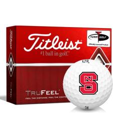 Titleist TruFeel North Carolina State Wolfpack Golf Balls