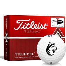Titleist TruFeel Northeastern Huskies Golf Balls