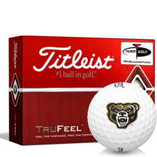Titleist TruFeel Oakland Golden Grizzlies Golf Balls