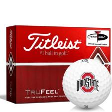Titleist TruFeel Ohio State Buckeyes Golf Balls