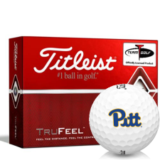 Titleist TruFeel Pittsburgh Panthers Golf Balls