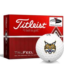 Titleist TruFeel Quinnipiac Bobcats Golf Balls