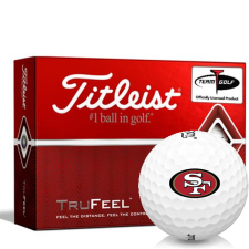 Titleist TruFeel San Francisco 49ers Golf Balls