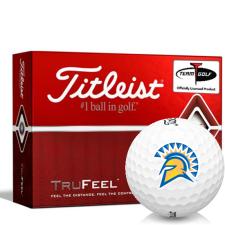 Titleist TruFeel San Jose State Spartans Golf Balls