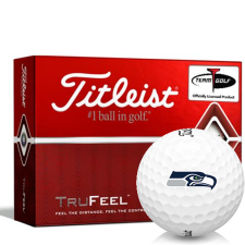 Titleist TruFeel Seattle Seahawks Golf Balls