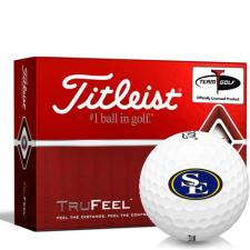 Titleist TruFeel Southeastern Oklahoma State Savage Storm Golf Balls