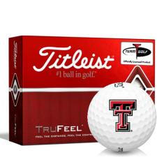 Titleist TruFeel Texas Tech Red Raiders Golf Balls