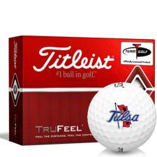 Titleist TruFeel Tulsa Golden Hurricane Golf Balls