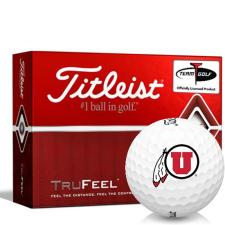 Titleist TruFeel Utah Utes Golf Balls