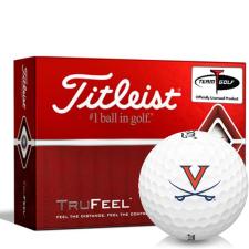 Titleist TruFeel Virginia Cavaliers Golf Balls