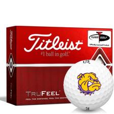 Titleist TruFeel Western Illinois Leathernecks Golf Balls