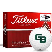 Titleist TruFeel Wisconsin Green Bay Phoenix Golf Balls