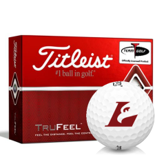 Titleist TruFeel Wisconsin La Crosse Eagles Golf Balls