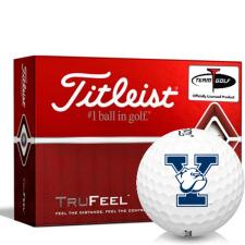 Titleist TruFeel Yale Bulldogs Golf Balls